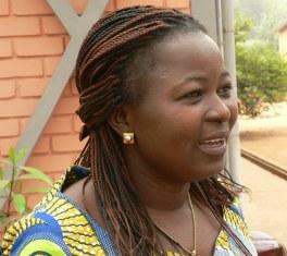 Anaté Kouméalo, présidente de L'AET