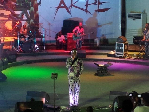King Mensah présente son 7è album, Akpé