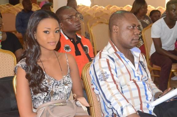 Miss Togo 2012 lors des régionales de la Savane